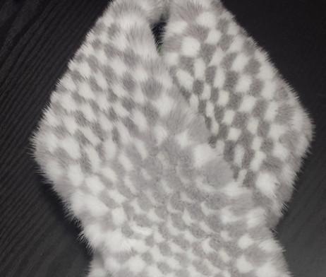Изделие из меха Шарф Chess scarf » Меховая коллекция 2017