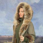 Изделие из меха Пальто Регина » Меховая коллекция 2017